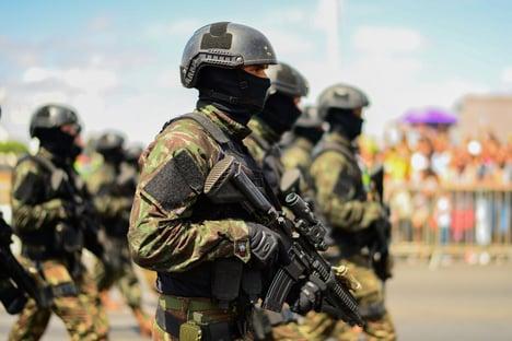 STF pode chamar o Exército para conter invasores