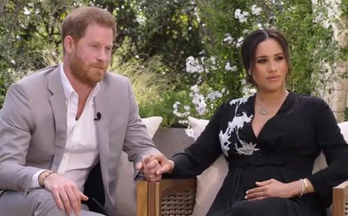 Em entrevista a Oprah, Meghan Markle diz que um integrante da família real ficou preocupado com a cor da pele do filho dela com Harry