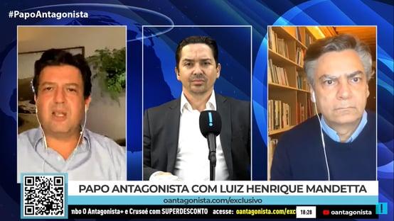 O Brasil perdeu o timing da vacinação, diz Mandetta