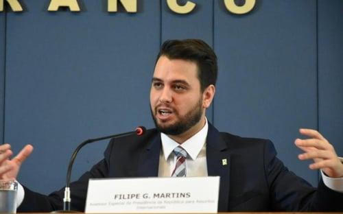 Filipe Martins vira réu por racismo