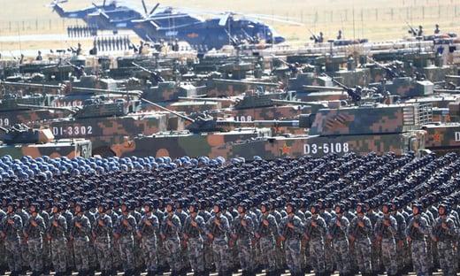 China turbina gastos militares, que chegam a US$ 209 bilhões