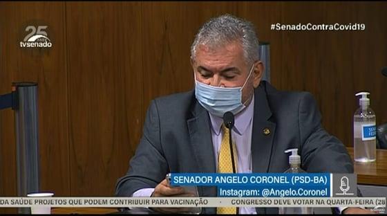 Eu acho o senador Renan tão tranquilo