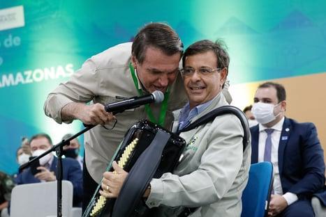 Acho que o Gilson quer ser senador, diz Bolsonaro