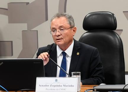 MP pede ao TSE para cassar mandato do senador Zequinha Marinho por caixa 2
