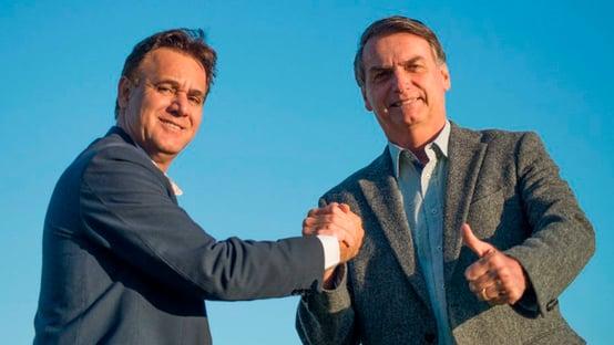 Dirigente do Patriota que tentou filiar Bolsonaro na marra é destituído do cargo