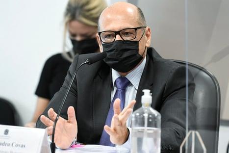 Dimas Covas suspeita de estudo do Ministério da Saúde sobre 3ª dose da Coronavac