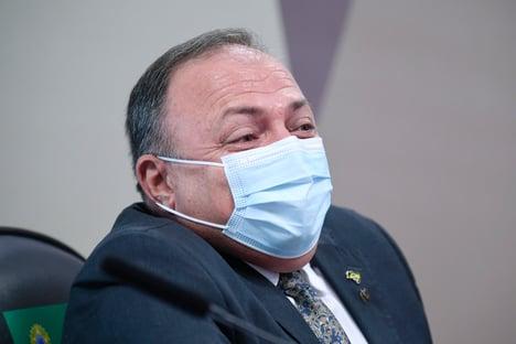 Em 2020, Pazuello encontrou Girão para falar de distribuição de cloroquina