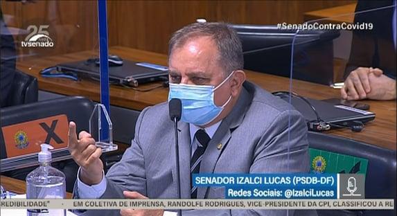 """Senadores dizem que Izalci atua como """"advogado de defesa"""" da VTCLog"""