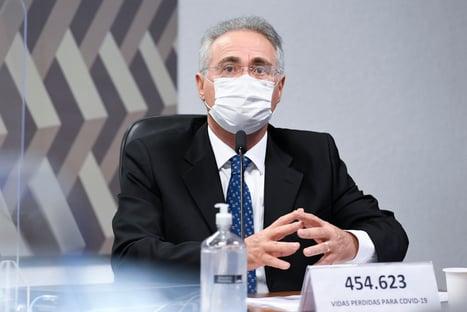 Renan quer entrar em ação de Bolsonaro contra lockdown de governadores