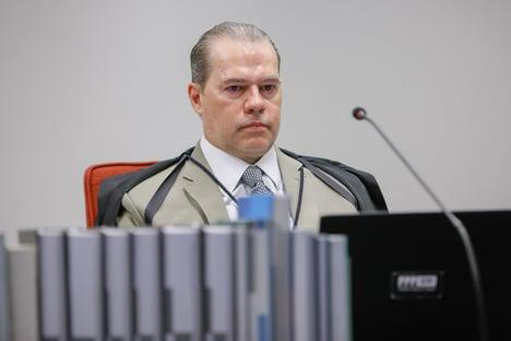 Toffoli relatará ação contra bloqueio de seguidores por Bolsonaro