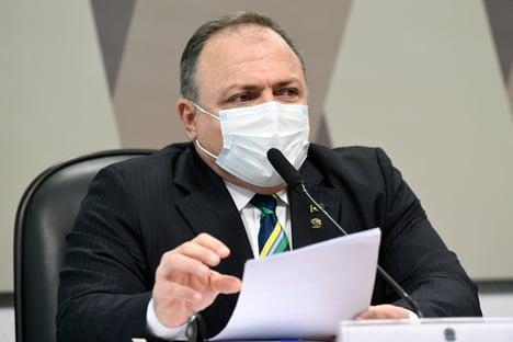 """""""Nunca recebi aconselhamentos externos"""", diz Pazuello, sobre 'ministério paralelo'"""