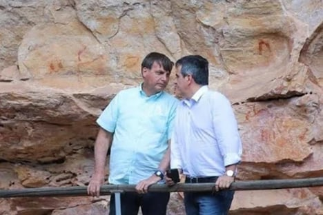 Reforma ministerial foi discutida com Paulo Guedes e Fabio Faria