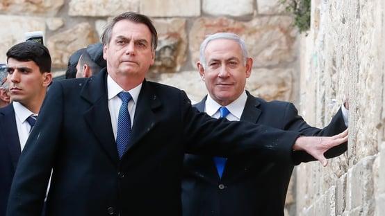 Bolsonaro parabeniza novo primeiro-ministro de Israel, Naftali Bennett