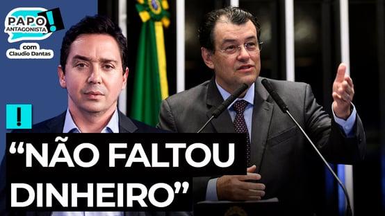"""""""Não faltou dinheiro"""", diz Eduardo Braga, sobre crise de oxigênio de Manaus"""