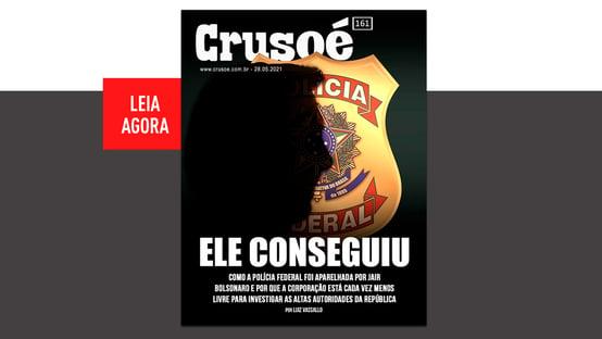 Bolsonaro controla a PF