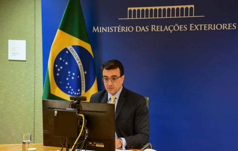Carlos França agradece à OMS por combate à pandemia