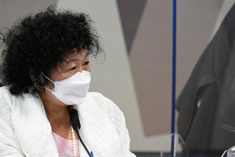 Nise Yamaguchi diz ter sido humilhada na CPI da Covid