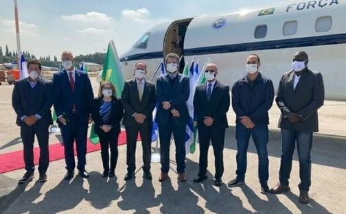 Na viagem do spray milagroso, Netanyahu cobrou do Brasil investimento no setor cibernético