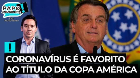 Coronavírus é favorito ao título da Copa América