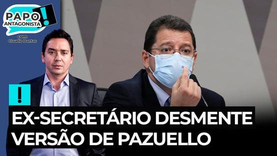 Ex-secretário desmente versão de Pazuello sobre crise em Manaus