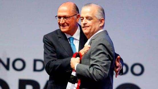 Geraldo Alckmin e Márcio França se unem contra João Doria