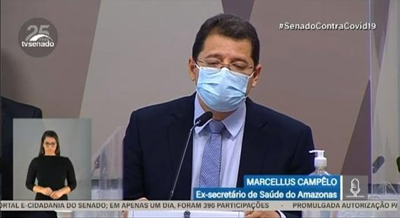 Campêlo diz que Amazonas recebeu respiradores para uso veterinário