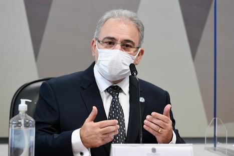 AO VIVO: Marcelo Queiroga fala à comissão da Covid