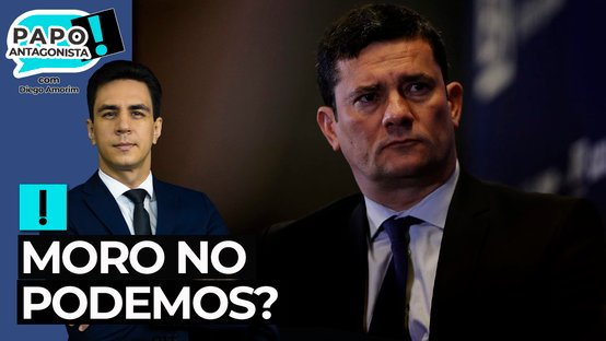 Moro garante que, se entrar para a política, vai se filiar ao Podemos, diz Alvaro Dias