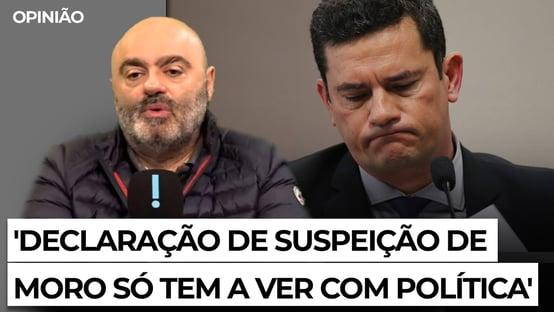 Declaração de suspeição de Moro só tem a ver com política
