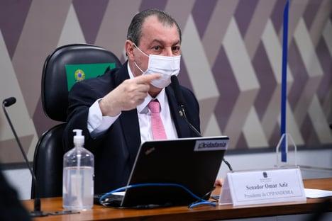 Aziz vai pedir reforço da Polícia Federal para análise de documentos da CPI