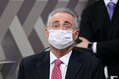 """""""Por que o senhor falou que Flávio Bolsonaro deveria estar preso?"""", pergunta Renan a Witzel"""