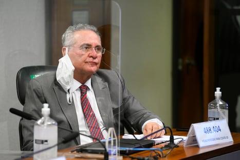 PGR defende no Supremo o arquivamento de inquérito contra Renan Calheiros