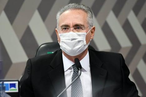 """""""Impressionante é o ventríloquo"""", diz Renan, sobre Jair Bolsonaro"""