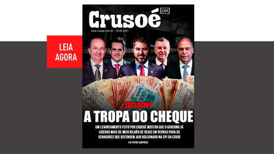 Crusoé: a tropa do cheque