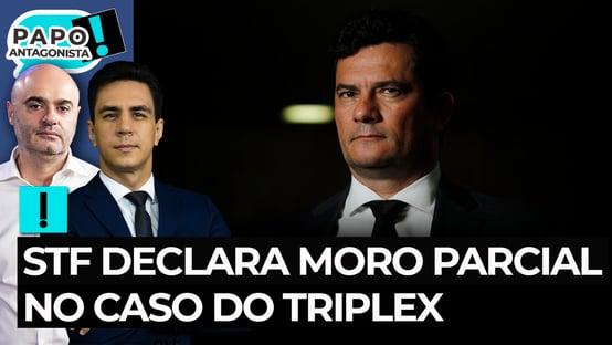 STF declara Moro parcial no caso do triplex do Guarujá