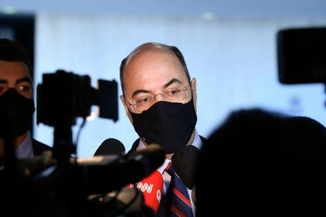 Witzel ataca Moro na CPI: menino de recado de Bolsonaro