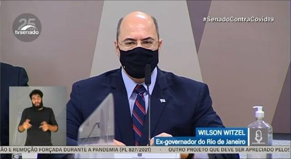 """""""Estávamos clamando por organização central no combate à pandemia"""", diz Witzel"""