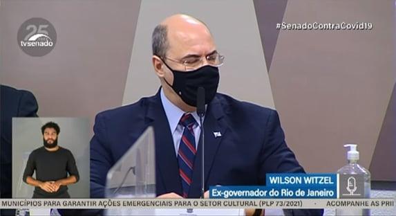 Witzel diz que Bolsonaro deixou os governadores à mercê da desgraça'