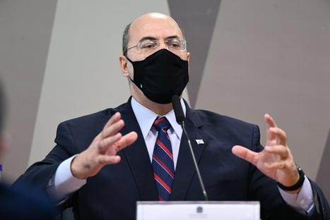 CPI da Covid aprova sessão secreta com Witzel