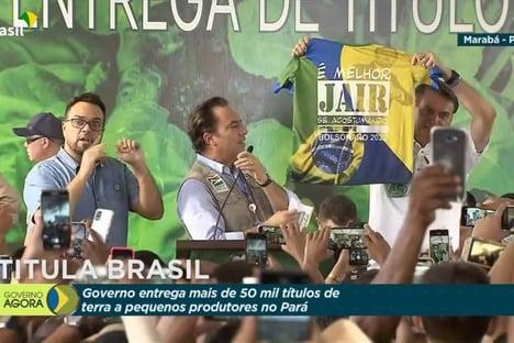 MP Eleitoral pede multa a Bolsonaro por propaganda antecipada