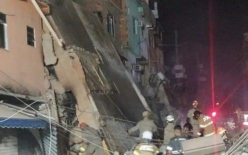 Polícia abre inquérito para apurar desabamento de prédio em Rio da Pedras