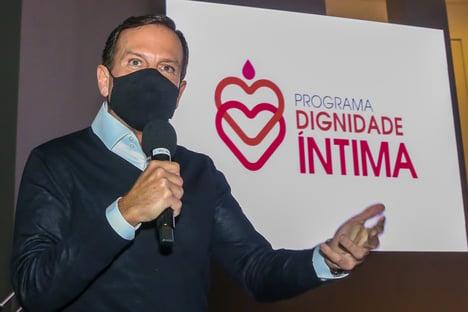 Doria anuncia fornecimento de absorventes íntimos para alunas de baixa renda