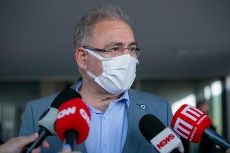 Queiroga: ainda estamos distantes de pôr fim à pandemia