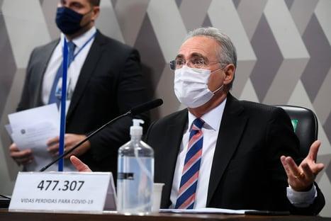 Renan se reúne com secretário especial da Receita Federal para discutir quebra de sigilos