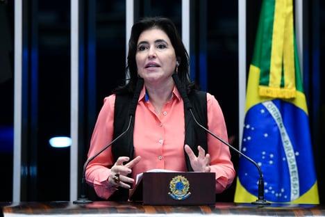 """""""Lugar de jabutis é nas matas"""", diz Simone, sobre mudanças na MP da Eletrobras"""