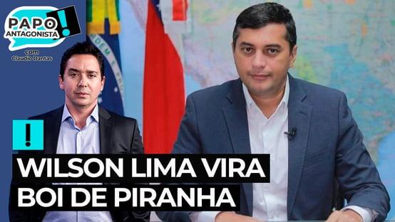Alvo de nova operação da PF, Wilson Lima vira boi de piranha