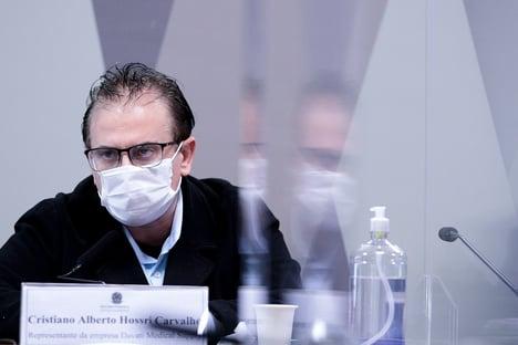 Cristiano Carvalho diz que outro vendedor de vacinas da Davati tentou negociar com Pazuello