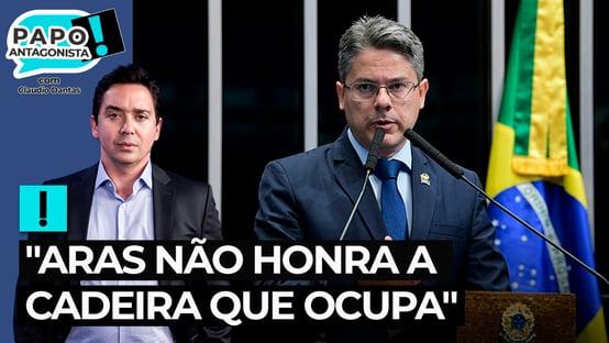 """Alessandro Vieira: """"Aras não honra a cadeira que ocupa"""""""