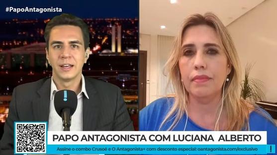 Não há mais como negar os crimes de responsabilidade, diz Luciana do Vem Pra Rua