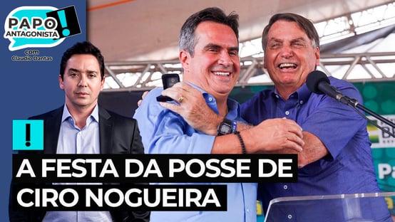 Ciro Nogueira quer festa na posse e mais poderes
